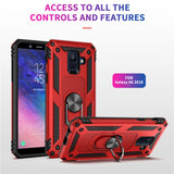 For Samsung Galaxy A6 A8 2018 A6plus A8plus Case Kickstand Armor Covers For Samsung A6 A8 Plus A6+ A8+ 2018 Magnet Phone case Great Looking Case Very Tough Case