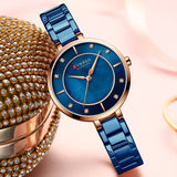 CURREN Women Watches Luxury Brand Fashion Casual Ladies Watch Women Quartz Diamond Lady Bracelet Wrist Watches For Women