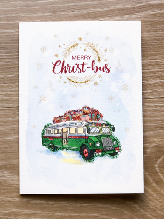 Merry Christ-Bus