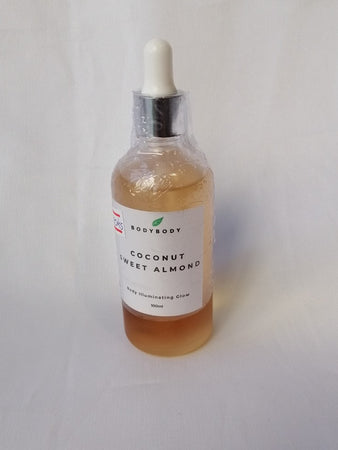 Coconut Sweet Almone 100ml (Body Oil )