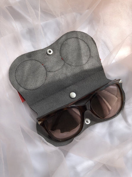Red Sunglass Holder
