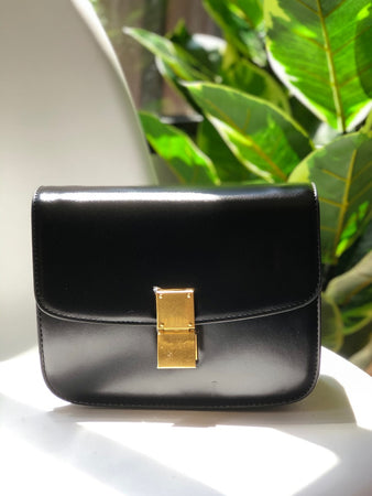 Palma Structured Bag in Black
