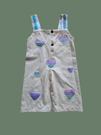 Milly Jumpsuit with Hearts