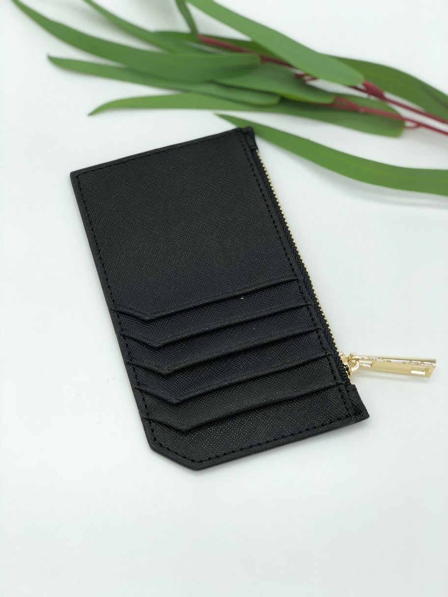 Colby Card Case in Black
