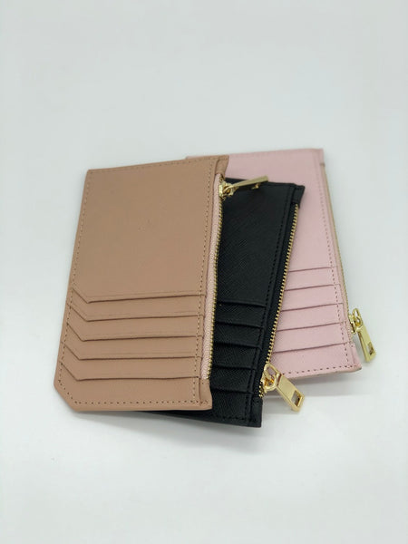 Colby Card Case in Pink