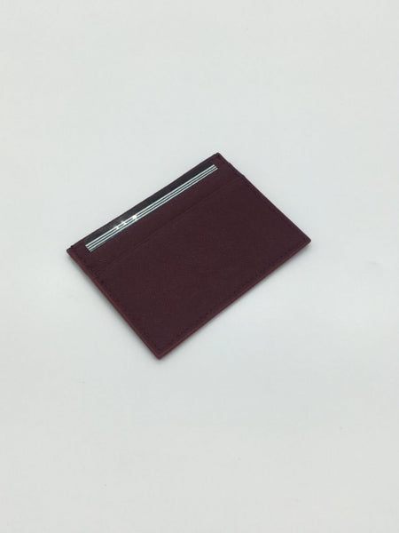 Newton Card Holder in Wine