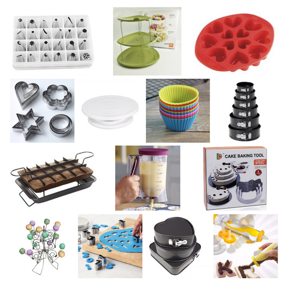 14 Baking Tools Set + FREE Surprise Gift