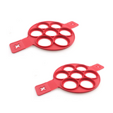 Imported from USA Pancake Mix + 7 Holes Silicone Perfect Pancake Breakfast Maker