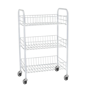 3 Tier Multipurpose Storage Kitchen Cart