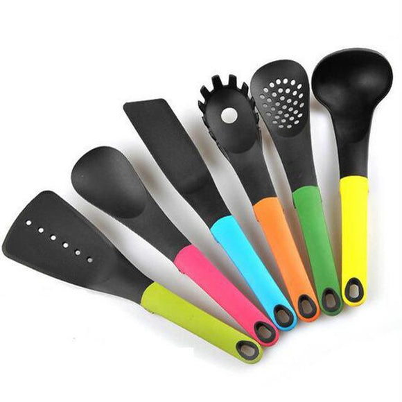 6 Pcs Nylon Kitchen Cookware Tools Set