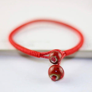 Lucky Charm Red String Bracelet