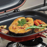 Happy Call Double Face Grill Pan
