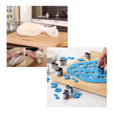 Kitchen Silicone Bag + FREE Cookie Cutter