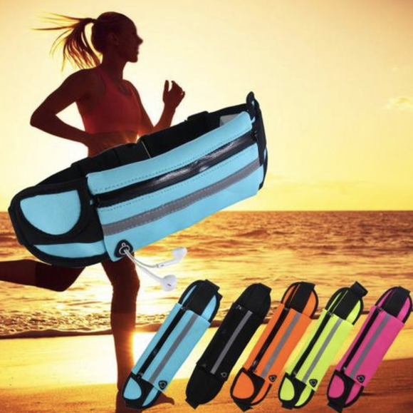 Jogging Running Multi Pocket Sports Belt Bag
