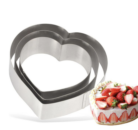 Heart Stainless Steel Cake Baking Decorating Tool
