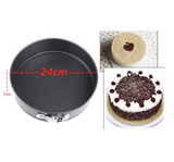3 Pieces Big Multiple Design Cake Molding Pan