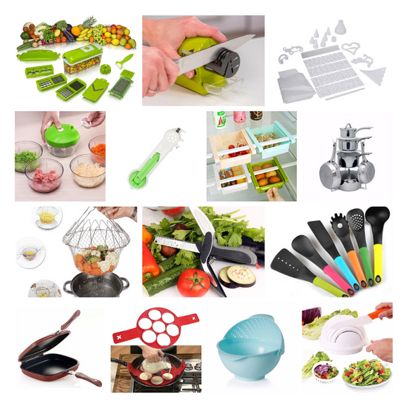 14 Kitchen Tools Set + FREE Surprise Gift