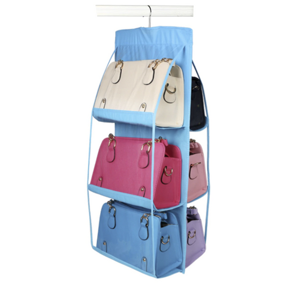 6 Pockets Hanging Bag Storage and Organizer