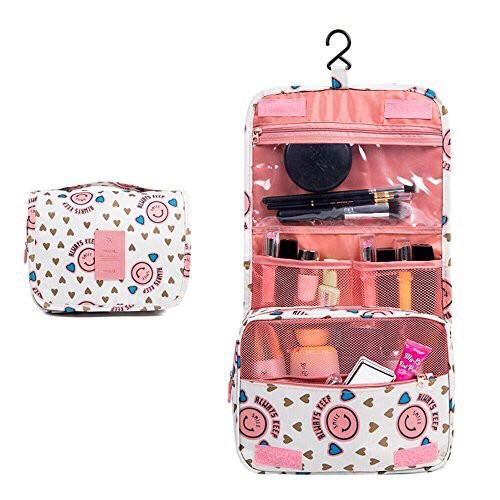 Toiletry Cosmetic Travel Pouch with Hook