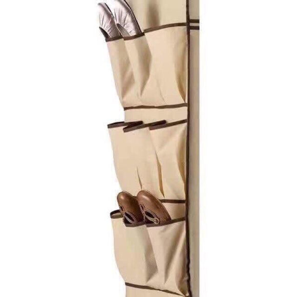 16 Pockets Hanging Shoe Organizer