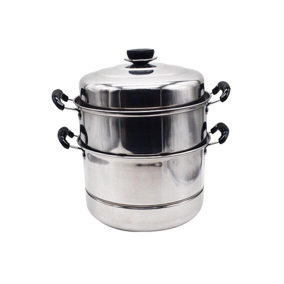 3 Layer Stainless Steel Steamer And Cooker Pots