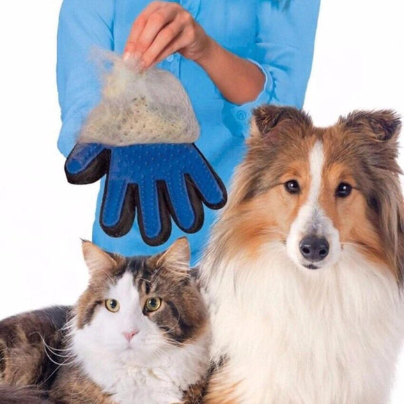 Magic Cleaning, Grooming and Massage Pet Brush