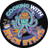 Cooking With Rock Stars logo