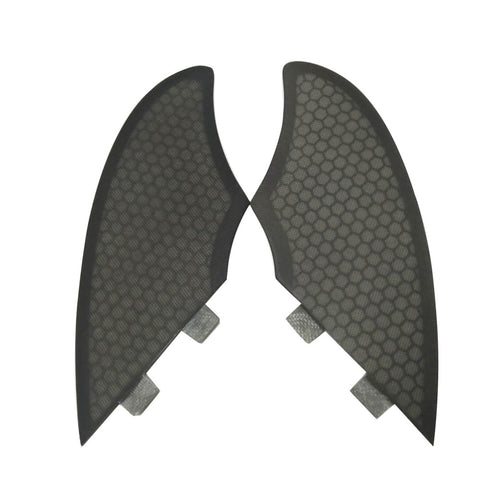 Set 2 Twin Honeycomb Fiber Fins