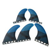 Set 5 Dérives Honeycomb Fiber Pack Thruster + Quad / G5+GL / Montage Future