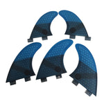 Set 5 Dérives Honeycomb Fiber Pack Thruster + Quad / G5+GL