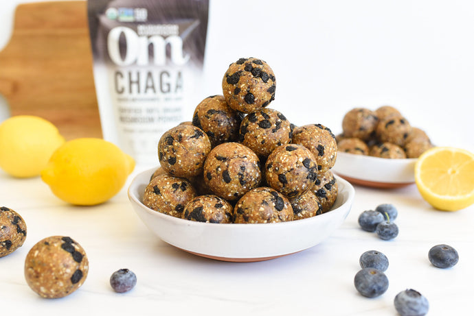 Lemon Blueberry Immunity Bites