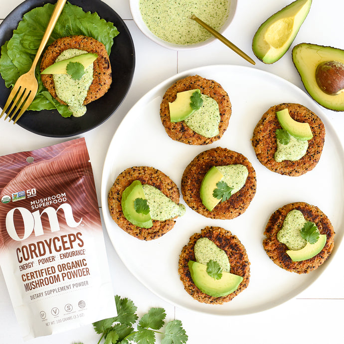 Quinoa & White Bean Patties