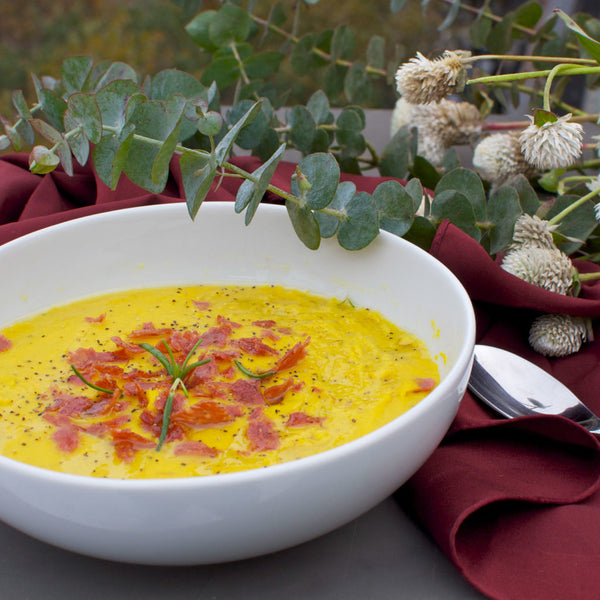 Creamy Red Lentil Soup