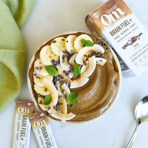 Mocha Mint Smoothie Bowl