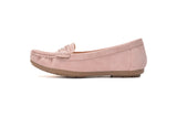 Comfortable Cushioned Insole Slip On Loafer Moccasins Flats Driving & Walking Shoes for Women