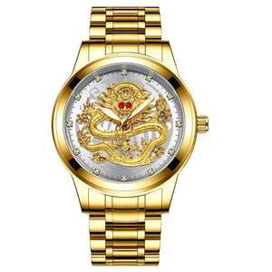 Father's Day Gift Golden Luxury Waterproof Fashion Watch(Buy 2 Free Shipping&Buy 3 Get 1 Free)