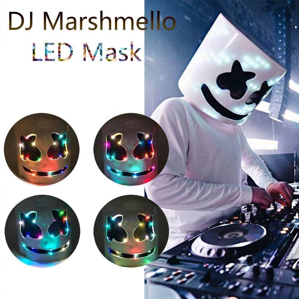 Halloween props DJ mask leadership music festival