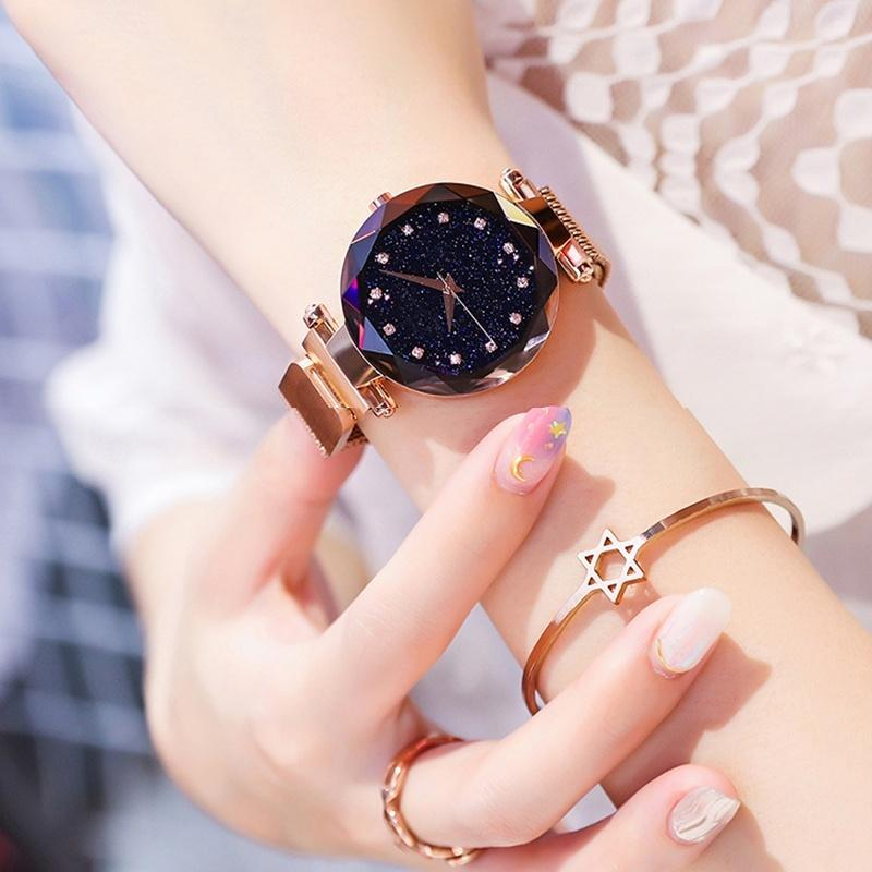 Free Shipping&70% OFF Six Colors Starry Sky Watch Perfect Gift Idea!