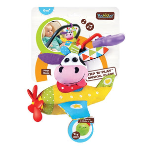 Tap N Play Musical Plane (Cow)