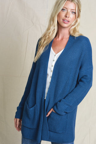 Everyday Cardi in Teal