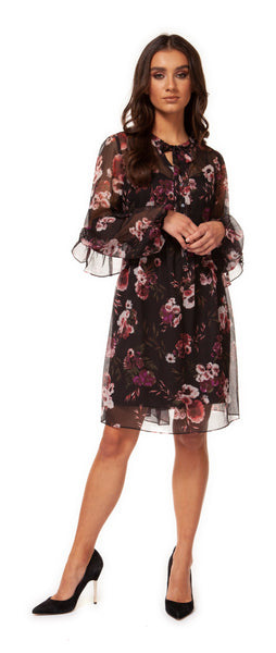 Winter Blooms Party Dress