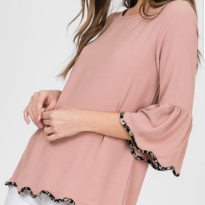 Bianca bellsleeve top