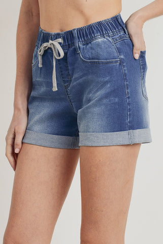 Classic Mom jean shorts