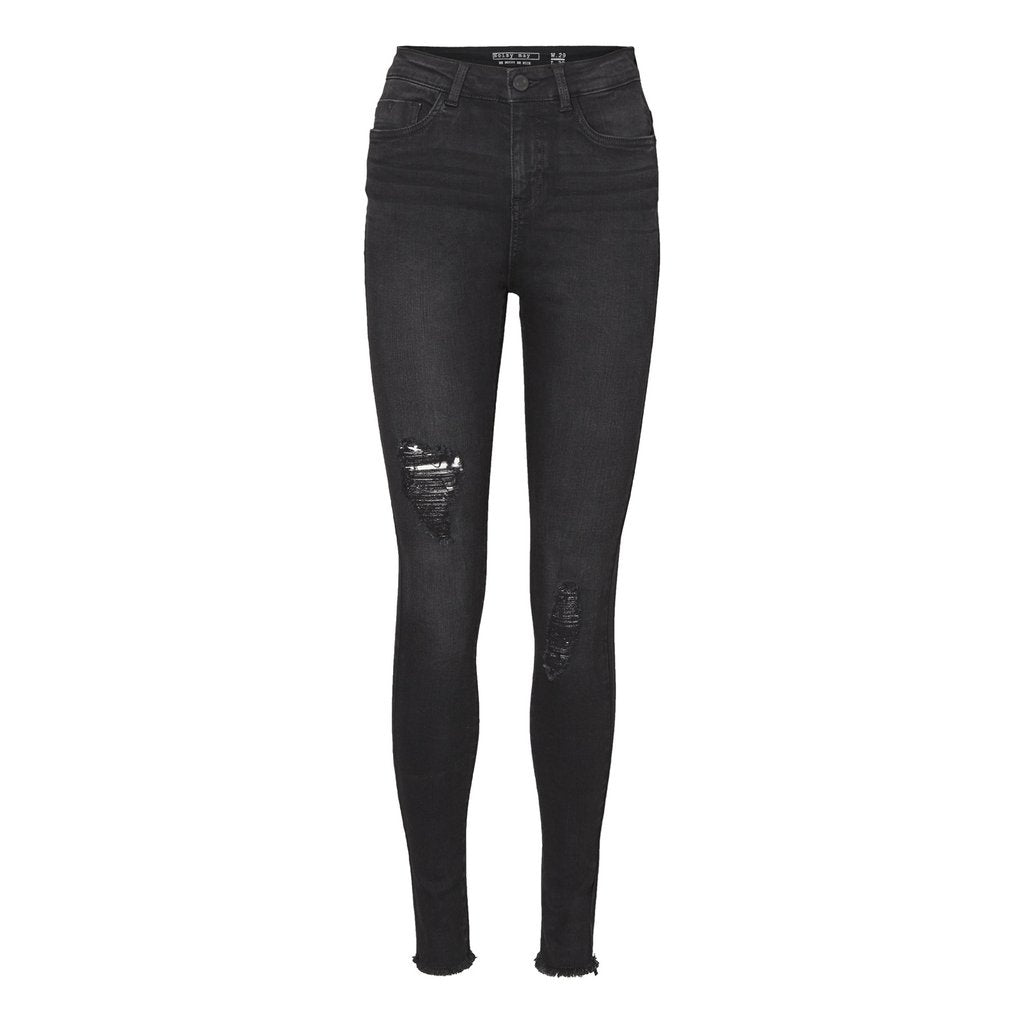 Lexi Highwaist Skinnies in Black