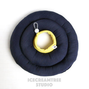 Navy Soft Comfy Cone - Hypoallergenic - Pet Recovery Collar