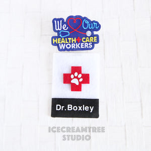Personalized Doctor ID Card - Pet Photo Prop