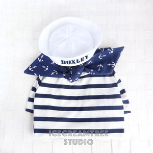 Sailor Look Outfit Set - Pet Costume Set