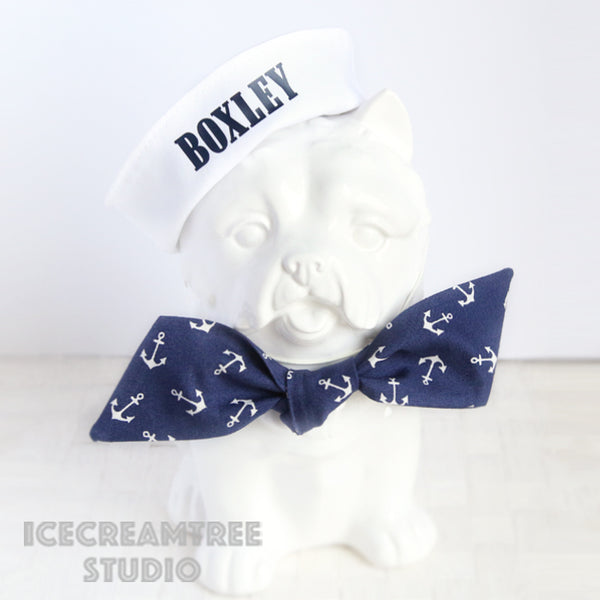 Custom Sailor Hat - Pet Petite Hat