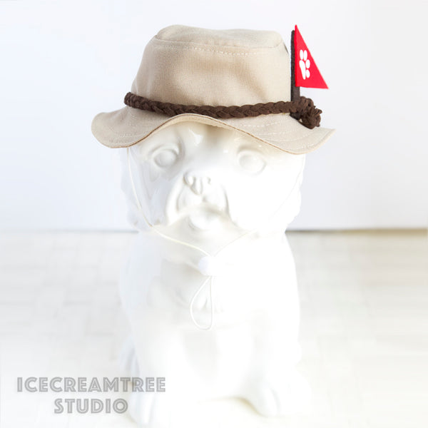 Explorer Tourist Bucket Hat - Pet Petite Hat