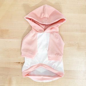 Super Soft Pink Pajama Hoodie - Sample Sale